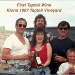 1st Tapteil wine